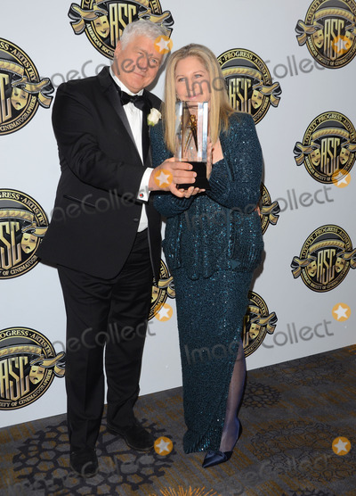 Andrzej Bartkowiak, Barbara Streisand Photo - 15 February 2015 - Century City, Ca - Andrzej Bartkowiak, Barbara Streisand. American Society of Cinematographers 29th Annual Outstanding Achievement Awards held at Hyatt Regency Century Plaza. Photo Credit: Birdie Thompson/AdMedia