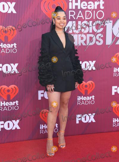 Ella Mai Photo - 14 March 2019 - Los Angeles, California - Ella Mai. 2019 iHeart Radio Music Awards Arrivals held at Microsoft Theater. Photo Credit: Birdie Thompson/AdMedia