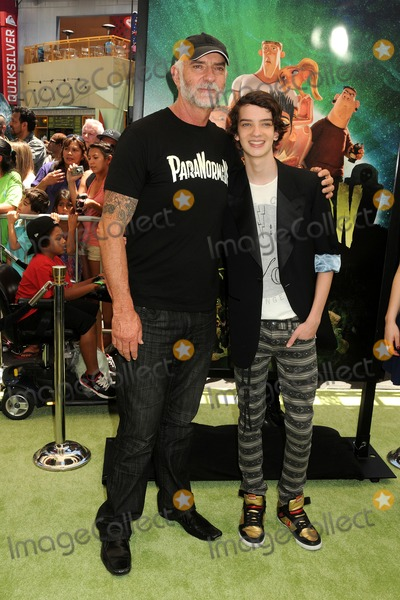 "Andy McPhee Photo - 5 August 2012 - Universal City, California - Andy McPhee, Kodi Smit-McPhee. ""ParaNorman"" Los Angeles Premiere held at AMC CityWalk Stadium 19 Theatre. Photo Credit: Byron Purvis/AdMedia"