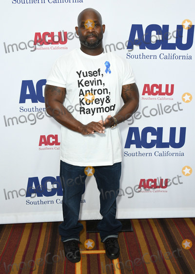 Antron McCray, J.W. Marriott Photo - 07 June 2019 - Hollywood, California - Antron McCray. ACLU 25th Annual Luncheon held at J.W. Marriott at LA Live. Photo Credit: Birdie Thompson/AdMedia