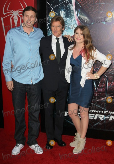 "Spider Man, Spider-Man, Spiderman, Ann Lembeck, Denis Leary Photo - 28 June 2012 - Westwood, California - Jack Leary, Denis Leary, Ann Lembeck. Columbia Pictures Los Angeles Premiere Of ""The Amazing Spider-Man"" Held The at Regency Village Theatre. Photo Credit: Faye Sadou/AdMedia"