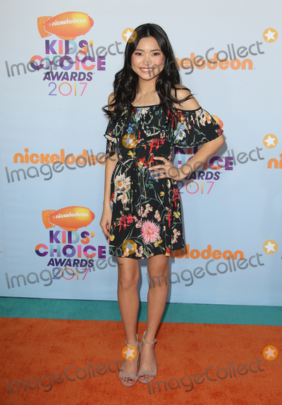 Ashley Liao Photo - 11 March 2017 -  Los Angeles, California - Ashley Liao. Nickelodeon's Kids' Choice Awards 2017 held at USC Galen Center. Photo Credit: Faye Sadou/AdMedia