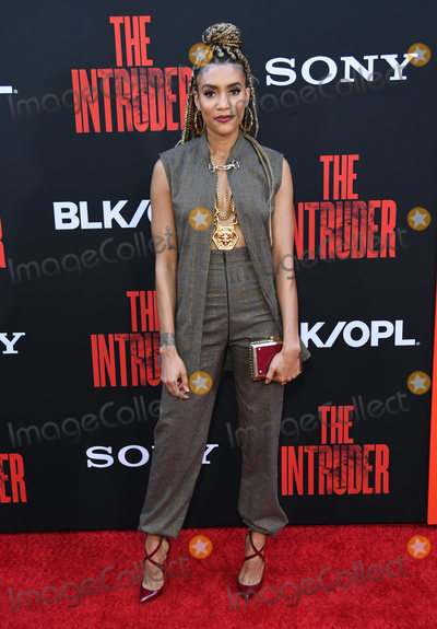 """Annie Ilonzeh, Annie  Ilonzeh Photo - 01 May 2019 - Hollywood, California - Annie Ilonzeh. """"The Intruder"""" Los Angeles Premiere held at Arclight Hollywood . Photo Credit: Birdie Thompson/AdMedia"""
