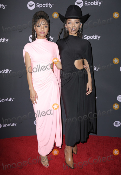 "Photo - 07 February 2019 - Westwood, California - Chloe X Halle. Spotify ""Best New Artist 2019"" Event held at Hammer Museum. Photo Credit: PMA/AdMedia"