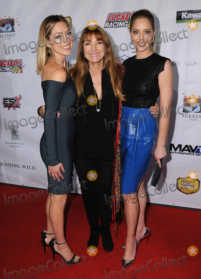 "Christina Moore, Jane Seymour, Annabelle Stephenson Photo - 06 February 2017 - Hollywood, California - Annabelle Stephenson, Jane Seymour, Christina Moore. ""Running Wild"" Los Angeles Premiere held at the TCL Chinese 6 Theater. Photo Credit: Birdie Thompson/AdMedia"