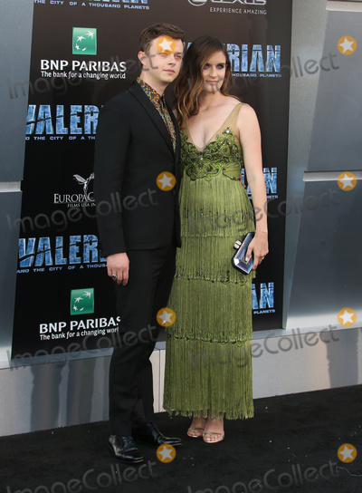 """Anna Wood, TCL Chinese Theatre, Anna Maria Perez de Taglé, Hüsker Dü, Isaach De Bankolé Photo - 17 July 2017 - Hollywood, California - Dane DeHaan, Anna Wood. """"Valerian and the City of a Thousand Planets"""" World Premiere held at TCL Chinese Theatre. Photo Credit: AdMedia. Photo Credit: F. SadouAdMedia"""