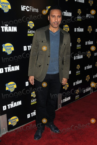 "Aasif Mandvi, Train Photo - 27 April 2015 - Hollywood, California - Aasif Mandvi. ""D Train"" Los Angeles Premiere held at Arclight Cinemas. Photo Credit: Byron Purvis/AdMedia"