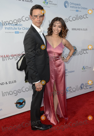 Christopher Gorham, Anel Lopez Photo - 17 June 2016 - Los Angeles. Christopher Gorham, Anel Lopez Gorham. Arrivals for the 2016 Stand For Kids Annual Gala benefitting Orthopaedic Institute for Children held at Twentieth Century Fox Studios Lot - New York Street. Photo Credit: Birdie Thompson/AdMedia
