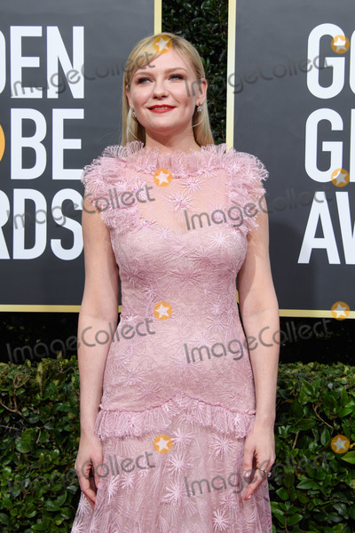 Kirsten Dunst Photo - 05 January 2020 - Beverly Hills, California - Nominee, Kirsten Dunst. 77th Annual Golden Globe Awards held at the Beverly Hilton. Photo Credit: HFPA/AdMedia