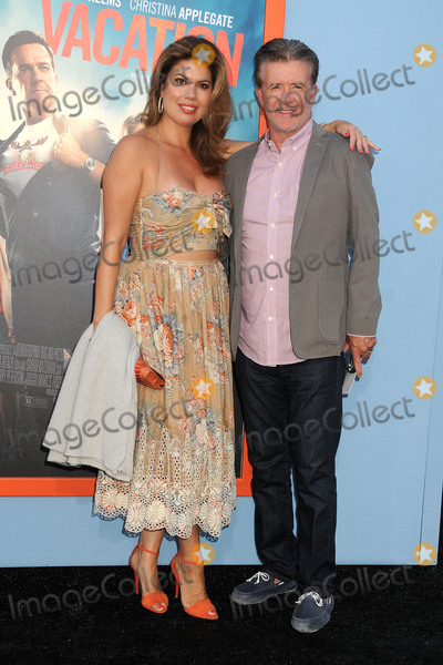 "Alan Thicke, Tanya Callau Photo - 27 July 2015 - Westwood, California - Tanya Callau, Alan Thicke. ""Vacation"" Los Angeles Premiere held at the Regency Village Theatre. Photo Credit: Byron Purvis/AdMedia"