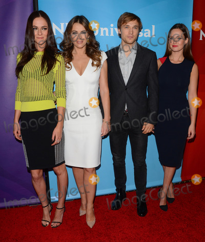 Elizabeth Hurley, William Moseley, Merritt Patterson, Alexandra Park Photo - 15 January 2015 - Pasadena, California - Alexandra Park, Elizabeth Hurley, William Moseley, Merritt Patterson.NBC Universal 2015 TCA Press Tour held at The Langham Huntington Hotel in Pasadena, Ca. Photo Credit: Birdie Thompson/AdMedia