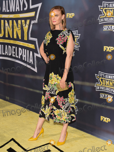 """Emily Deschanel Photo - 24 September 2019 - Hollywood, California - Emily Deschanel. """"Its Always Sunny In Philadelphia' FX Season 14 Premiere held at TCL Chinese 6 Theatres. Photo Credit: Billy Bennight/AdMedia"""