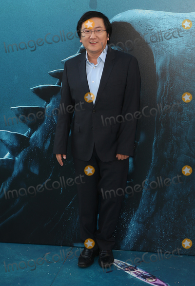 """Masi Oka, TCL Chinese Theatre Photo - 06 August 2018 - Hollywood, California - Masi Oka. Warner Bros. Pictures And Gravity Pictures' Premiere Of """"The Meg"""" held at TCL Chinese Theatre IMAX. Photo Credit: Faye Sadou/AdMedia"""