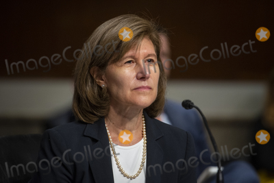 Photo - Anne A. Witkowksy appears before a Senate Committee on Foreign Relations hearing for her nomination to be an Assistant Secretary of State (Conflict and Stabilization Operations), and to be Coordinator for Reconstruction and Development, in the Dirksen Senate Office Building in Washington, DC, Tuesday, July 20, 2021. Credit: Rod Lamkey / CNP/AdMedia