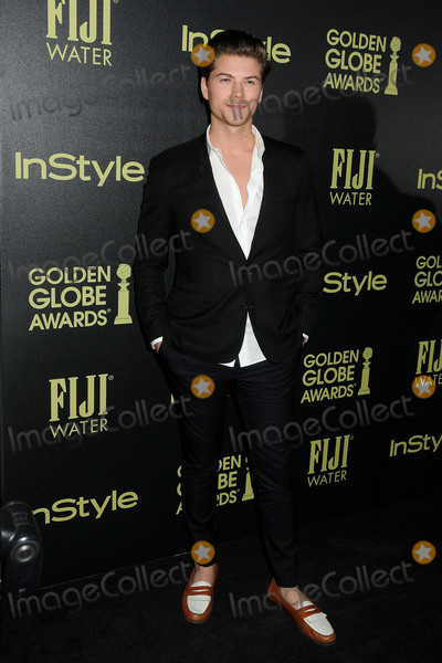 Amadeus Serafini, Foreigner Photo - 18 November 2015 - West Hollywood, California - Amadeus Serafini. Hollywood Foreign Press Association and InStyle Celebrate The 2016 Golden Globe Award Season held at Ysabel. Photo Credit: Byron Purvis/AdMedia