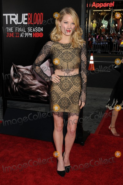 "Ashley Hinshaw, TCL Chinese Theatre Photo - 17 June 2014 - Hollywood, California - Ashley Hinshaw. ""True Blood"" Final Season Premiere held at the TCL Chinese Theatre. Photo Credit: Byron Purvis/AdMedia"