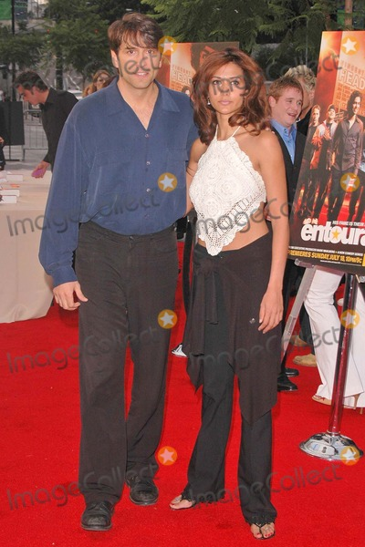"Vincent Spano Photo - Vincent Spano and date at the Premiere of HBO's Series ""Entourage"" at Avalon, Hollywood, CA. 06-28-04"