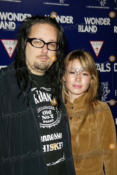 Photos and Pictures - Jonathan Davis and wife at the Los ...