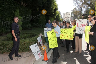 Casey Kasem, Kerri Kasem, The Police Photo - Kerri Kasem and the police