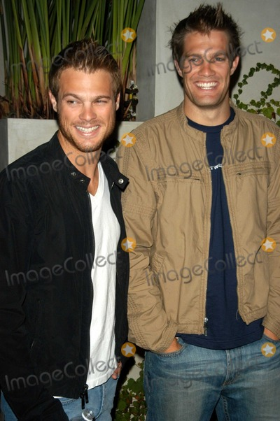 George Stultz Photo - Geoff and George Stultz at the Flaunt Magazine Summer Reign Party, Falcon, Hollywood, CA 06-20-03