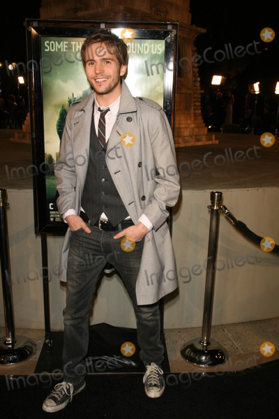 "Michael Stahl-David, Michael Bublé, Michael Paré Photo - Michael Stahl-David at the Los Angeles Premiere of ""Cloverfield"". Paramount Pictures Lot, Hollywood, CA. 01-16-08"