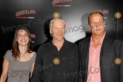 Bill Maher, Woody Harrelson, Grauman's Chinese Theatre Photo - Bill Maher and Woody Harrelsonat the Los Angeles Premiere of 'Zombieland'. Grauman's Chinese Theatre, Hollywood, CA. 09-23-09