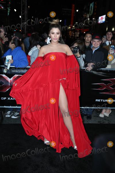 "XX, Ariadna Gutierrez Photo - Ariadna Gutierrez at the ""xXx: Return Of Xander Cage"" Premiere, TCL Chinese Theater IMAX, Los Angeles, CA 01-19-17"