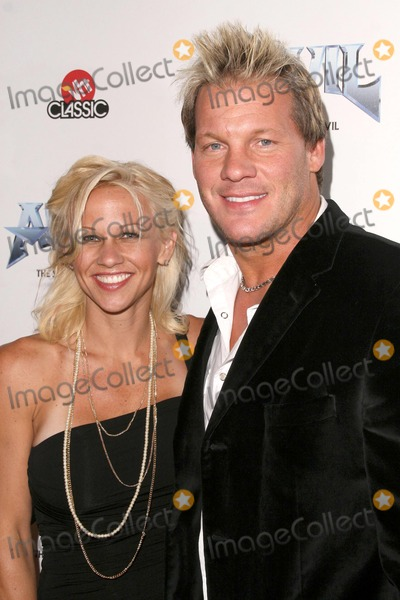 Chris Jericho, Anvil, Anvil !, Anvil! Photo - Chris Jericho and wife Jessica