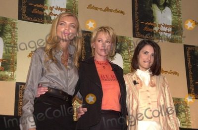 Esther Canadas, Melanie Griffith, Penelope Cruz, Penelope  Cruz, Melanie Griffiths Photo - Esther Canadas, Melanie Griffith and Penelope Cruz at the Sabera Foundation Press Conference, helping children and wives in India who have been abandoned, CAA, Beverly Hills, CA 10-10-02