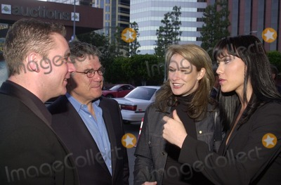"""Kirsty Mitchell Photo - Ally McCoist talks to co-star Kirsty Mitchell at the premiere of """"A SHOT AT GLORY"""" in Westwood, 04-23-02"""