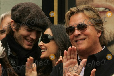 Ashton Kutcher, Bruce Willis, Demi Moore, Don Johnson, The Ceremonies Photo - Ashton Kutcher with Demi Moore and Don Johnsonat the Ceremony honoring Bruce Willis with the 2,321st star on the Hollywood Walk of Fame. Hollywood Boulevard, Hollywood, CA. 10-16-06