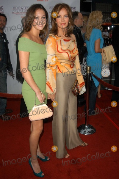 "Jaclyn Smith Photo - Jaclyn Smith and daughter Spencer Margaret at the world premiere of Columbia Picture's ""Charlie's Angels - Full Throttle"" at the Chinese Theater, Hollywood, CA 06-18-03"