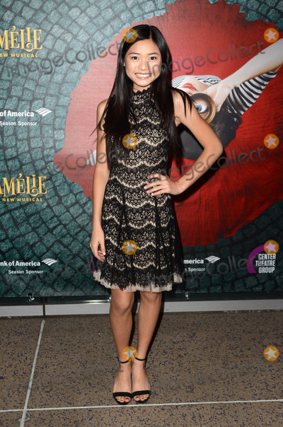 """Ashley Liao Photo - Ashley Liao at the """"Amelie, A New Musical"""" Opening, Ahmanson Theater, Los Angeles, CA 12-16-16"""