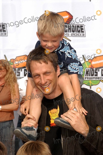 Photos and Pictures - Tony Hawk and son Spencer at the