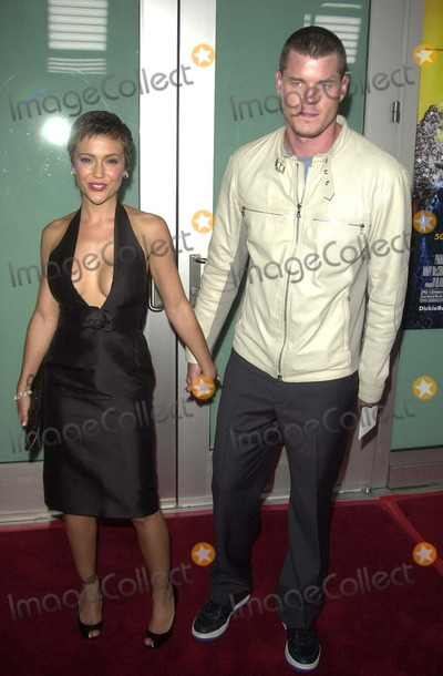 """Alyssa Milano, Eric Dane Photo - Alyssa Milano and Eric Dane at the world premiere of Paramount's """"Dickie Roberts: Former Child Star"""" at the Cinerama Dome, Hollywood, CA 09-03-03"""