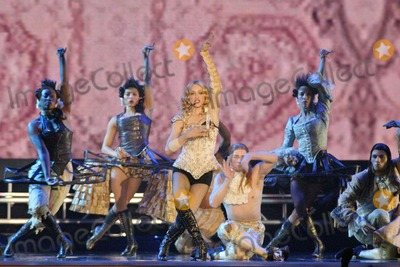 """Madonna Photo - Madonna at the opening night of Madonna's """"Reinvention Tour - 2004"""" at The Forum, Inglewood, CA. 05-24-04"""