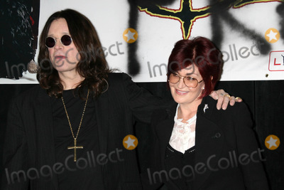 Ozzy Osbourne, Sharon Osbourne Photo - Ozzy Osbourne and Sharon Osbourne