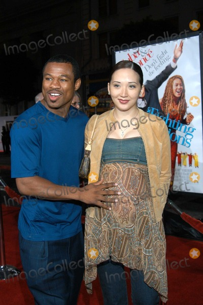 """Photos and Pictures - Shane Mosley and wife Jin at """"The ..."""