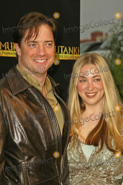 Brendan Fraser, Afton Smith, King Sunny Adé Photo - Brendan Fraser and wife Afton Smith at the King Tut Returns to LACMA for a Five-Month Engagement, LACMA, Los Angeles, CA 06-15-05