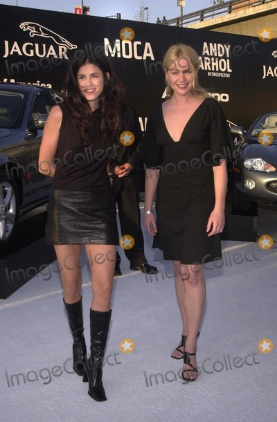 Andy Warhol, Hüsker Dü Photo - Portia Di Rossi and friend Francesca at the Museum of Contemporary Art's opening gala for their Andy Warhol exhibit, Los Angeles, 05-22-02