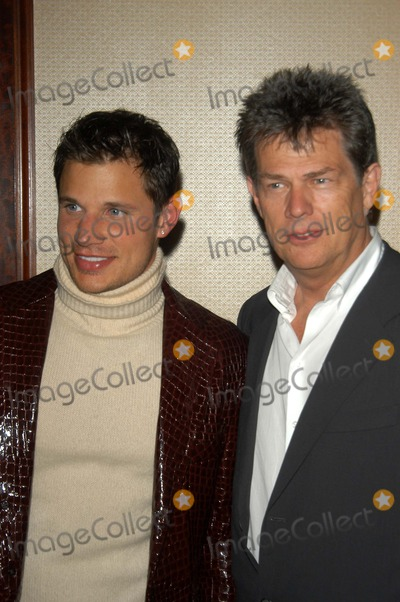 Nick Lachey, David Foster Photo - Nick Lachey and David Foster at the 10th Annual Race To Erase MS, Century Plaza Hotel, Century City, CA 05-09-03