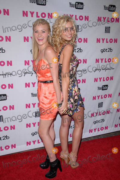 A. J. Michalka, A.J. Michalka, AJ Michalka, Alyson Michalka, AJ. Michalka Photo - A.J. Michalka and Alyson Michalka at the NYLON Magazine's May Issue Young Hollywood Launch Party, Roosevelt Hotel, Hollywood, CA. 05-12-10