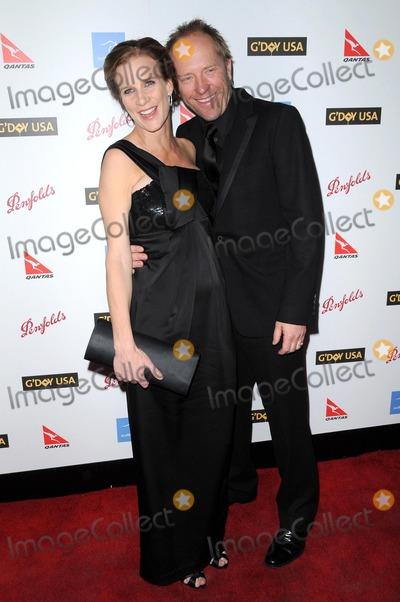 Andrew Taylor, Rachel Griffiths Photo - Rachel Griffiths and Andrew Taylor at the G'Day USA Australia Week 2009 Black Tie Gala. Renaissance Hotel Grand Ballroom, Hollywood, CA. 01-18-09