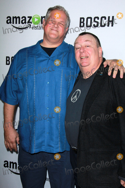 "Troy Evans, Abraham Benrubi Photo - Abraham Benrubi, Troy Evans at the ""Bosch"" Amazon Red Carpet Premiere Screening, Cinerama Dome, Hollywood, CA 02-03-15"