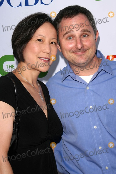 Photo - Andy Milder and wife Betty Lee at the CBS, CW and Showtime Press Tour Stars Party, Boulevard3, Hollywood, CA. 07-18-08