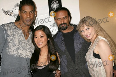 Amanda Rushing, Karim, Lena Yada, William Romeo, Charmaine, Charmaine Blake, Rush Photo - William Romeo and Lena Yada with Karim Imam and Amanda Rushing