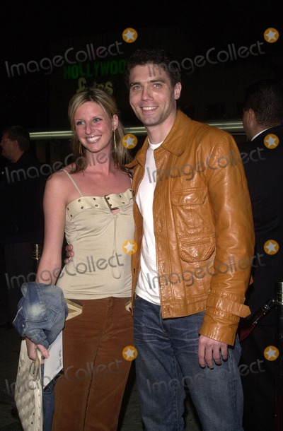 """123 Current Account >> Photos and Pictures - Anson Mount and date Lauren at the premiere of Paramount's """"The Hunted"""" at ..."""