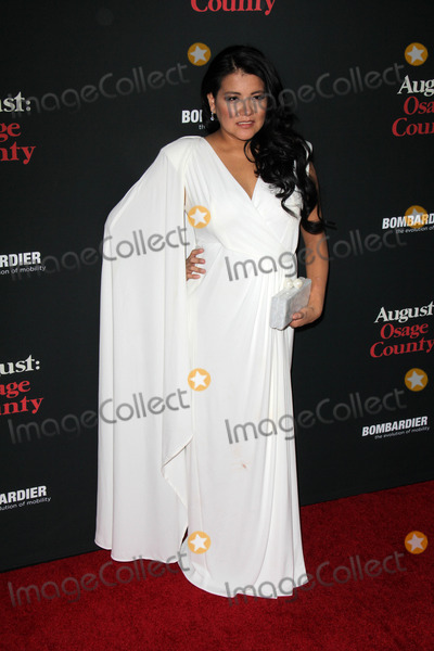 """Misty Upham Photo - Misty Upham at the """"August: Osage County"""" Los Angeles Premiere, Regal Cinemas, Los Angeles, CA 12-16-13"""