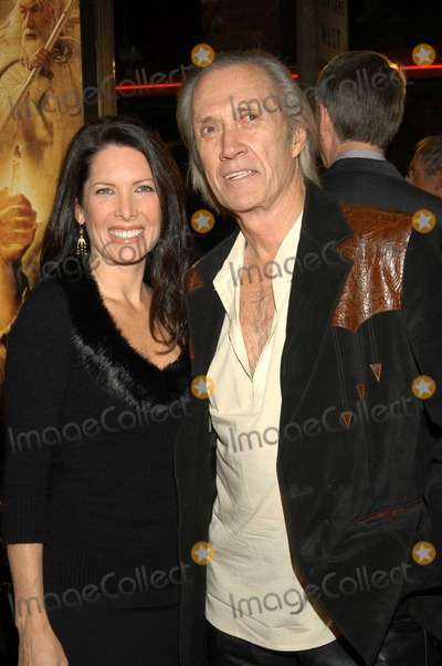 "David Carradine, Annie Bierman Photo - David Carradine and Annie Bierman at The North American Premiere of ""The Lord of the Rings: The Return of the King"" , Mann Village Theatre, Westwood, Calif., 12-03-03"