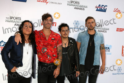 American Authors Photo - American Authors Band at the 4th Annual Sports Humanitarian Awards, The Novo, Los Angeles, CA 07-17-18